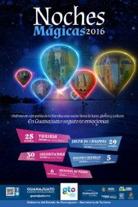 Noches mágicas Guanajuato